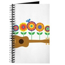 Ukulele Flowers Journal