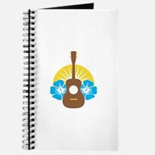 Ukulele Hibiscus Journal