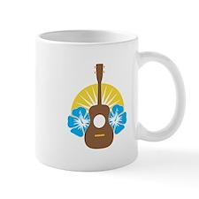 Ukulele Hibiscus Mug