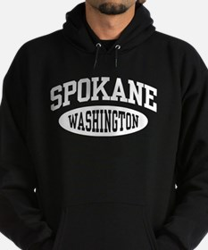 Spokane Washington Hoodie (dark)