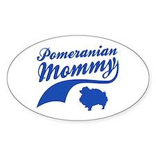 Pomeranian Mommy Decal
