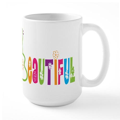 Beautiful Uke Large Mug