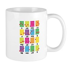 Chord Cheat Tee White Mug