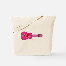 Crazy 4 Uke Tote Bag