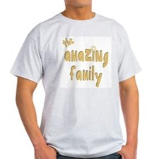 The Amazing Family Ash Grey T-Shirt