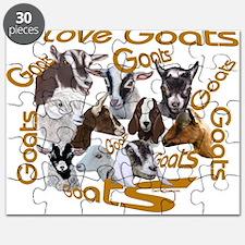 I love Goat Breeds Puzzle