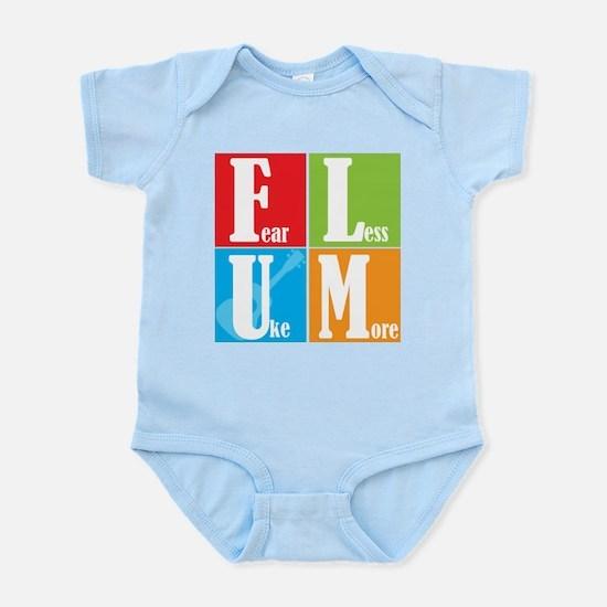Fear Less Uke More Infant Bodysuit