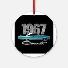 1967 Coronet Ornament (Round)