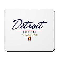 Detroit Script Mousepad