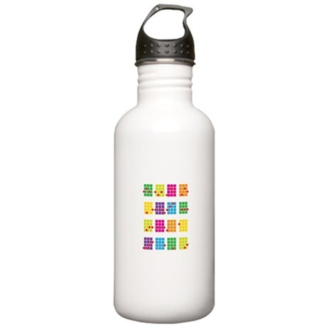 Uke Chords Colourful Stainless Water Bottle 1.0L