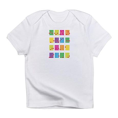 Uke Chords Colourful Infant T-Shirt
