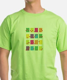 Uke Chords Colourful T-Shirt