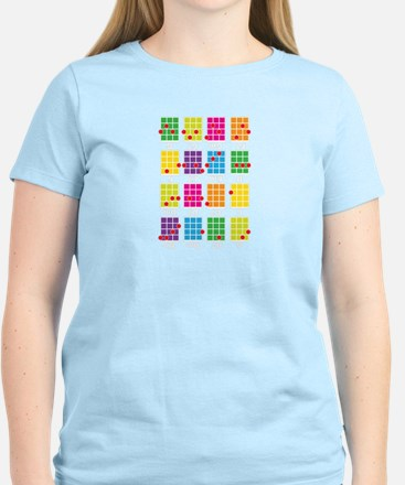 Uke Chords Colourful Women's Light T-Shirt