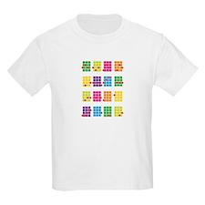 Uke Chords Colourful T-Shirt