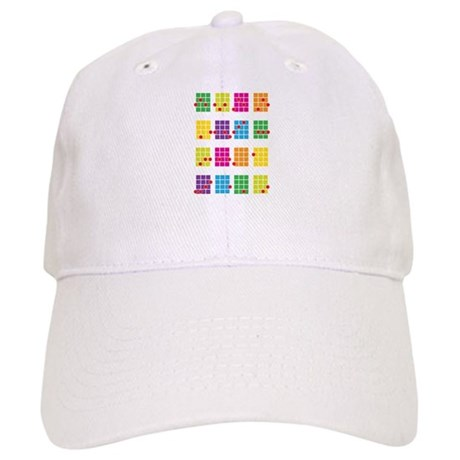 Uke Chords Colourful Cap
