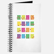 Uke Chords Colourful Journal