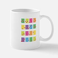 Uke Chords Colourful Mug