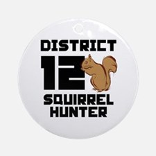 The Hunger Games District 12 Squirrel Hunter Ornam