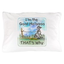 GOAT-That's Why Pillow Case