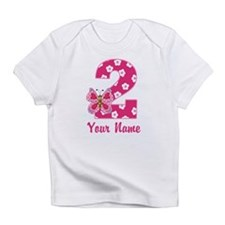 2nd Birthday Butterfly Infant T-Shirt