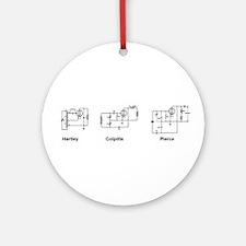 Oscillators Ornament (Round)