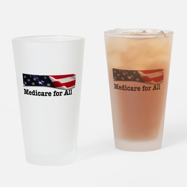 Cute Health care all Drinking Glass