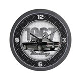Ford mustang mach 1 Wall Clocks