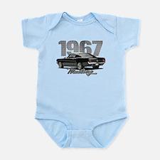 1967 Mustang Fastback Infant Bodysuit