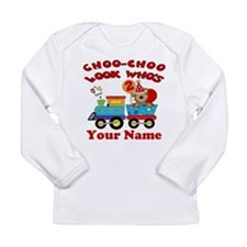 2nd Birthday Train Long Sleeve Infant T-Shirt