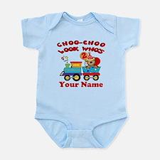2nd Birthday Train Infant Bodysuit