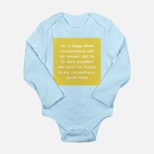 david hume Long Sleeve Infant Bodysuit