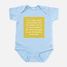 david hume Infant Bodysuit