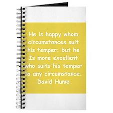 david hume Journal