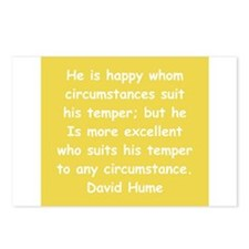 david hume Postcards (Package of 8)
