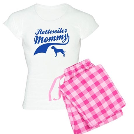 Rottweiler Mommy Women's Light Pajamas
