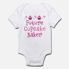 Future Cupcake Baker Infant Bodysuit