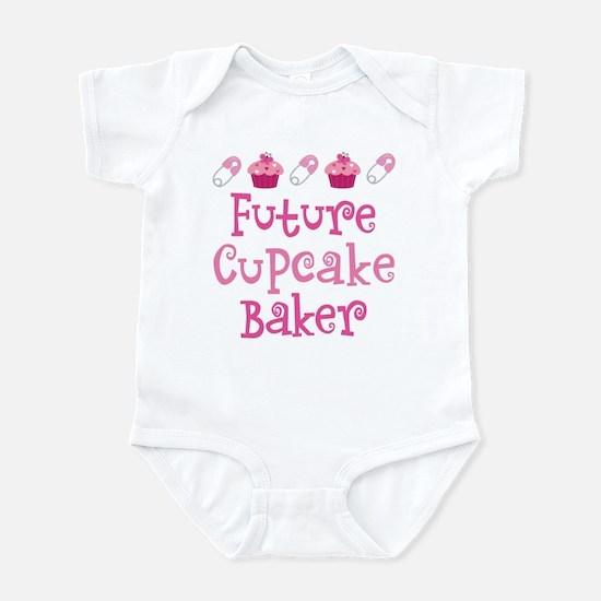 Future Cupcake Baker Infant Bodysuit
