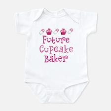 Future Cupcake Baker Onesie