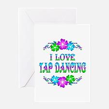 Tap Dancing Love Greeting Card
