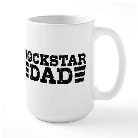 Rockstar Dad Large Mug