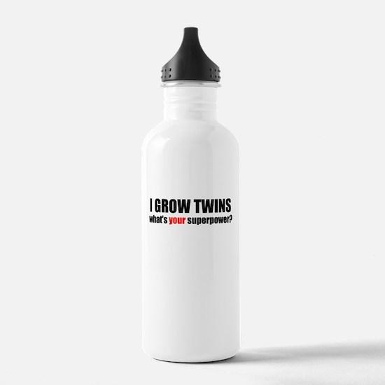 I grow twins Water Bottle