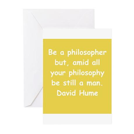 david hume Greeting Cards (Pk of 10)