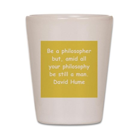 david hume Shot Glass