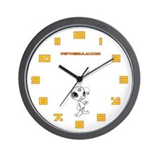 White N.E.L.F Wall Clock