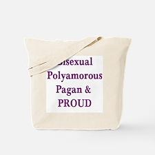 BiPolyPagan Tote Bag