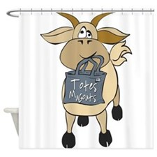 Funny Goats - Totes MaGoats Shower Curtain