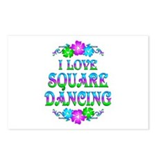 Square Dancing Love Postcards (Package of 8)