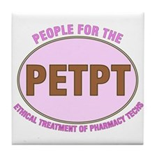 Pharmacist Humor Tile Coaster