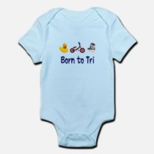 Born to Tri Infant Bodysuit