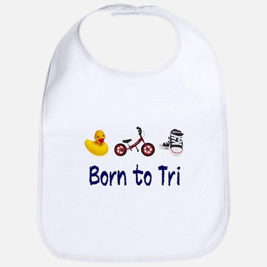 Born to Tri Bib